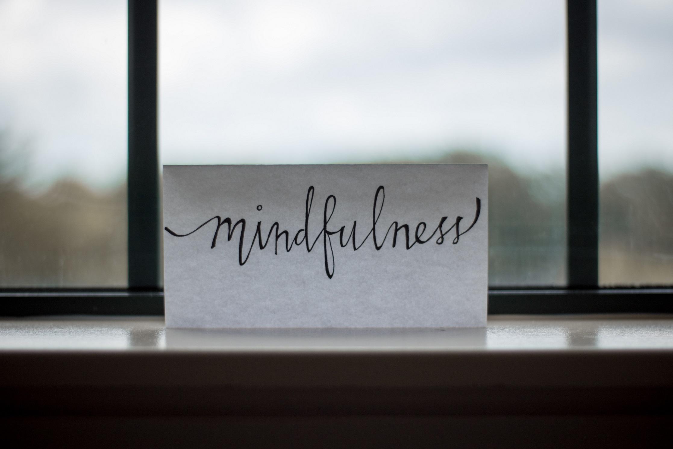 het continuum van mindless naar mindful